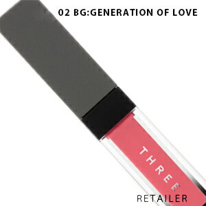 ♪ #02 【THREE】 スリー エピックミニダッシュ #02 BG:GENERATION OF LOVE<口紅・リップカラ—><クリームチーク・チークカラー>