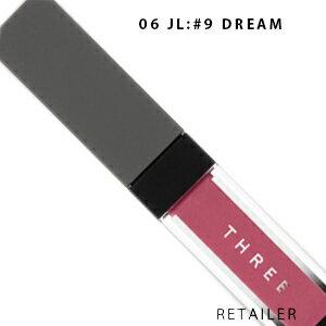 ♪ #06 【THREE】 スリー エピックミニダッシュ #06 JL:#9 DREAM<口紅・リップカラ—><クリームチーク・チークカラー>