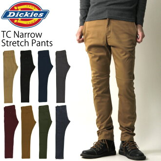 Dickies (deckers and Dickies) TC stretch narrow pants tapered mens 133M40WD03