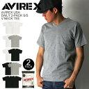 ★ポイント10倍★【送料無料】AVIREX(アビレックス) アヴィレックス デイリーシリーズ 2パック Vネック Tシャツ カッ…