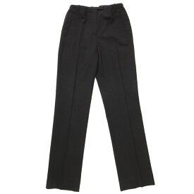 【エルメス】Hermes ウール スラックス パンツ ブラック 34 【中古】【鑑定済・正規品保証】72780