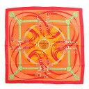 【エルメス】Hermes カレ90 シルクスカーフ La Promenade du Matin 朝の散歩 【中古】【鑑定済・正規品保証】【送料無料】22998