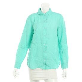 【ダブルスタンダードクロージング】DOUBLE STANDARD CLOT リネン シャツ ミントグリーン F 【中古】【鑑定済・正規品保証】23612