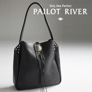 PAILOT RIVER パイロットリバー キャルバッグ ブロンココンチョ/洋白 PR-CAL-BG[メンズ バッグ 鞄 レザー おしゃれ かっこいい 紳士 大人 彼氏 男性 プレゼント]