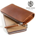 PAILOTRIVER パイロットリバー パレット型ロングファスナーウォレット型 長財布 Round ZIP Long Wallet PR-PALETTE-LC…