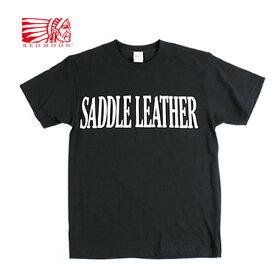 「予約販売」REDMOON レッドムーン Saddle Leather Tシャツ Shirts RM-T13[メンズ 男物 半袖 Tシャツ ティーシャツ おしゃれ かっこいい 大人 彼氏 男性 プレゼント]