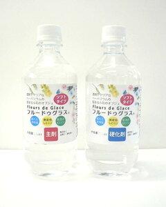 フルードゥグラス 固まる ハーバリウム 手作り 制作 エターナルアイス (ソフト2L〔主剤1L+硬化剤1L〕)【ハロウィン】