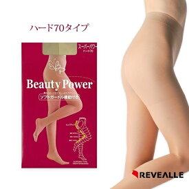 レヴアル 【日本製】スーパーパワーハード70 着圧パンティストッキング M/L 【ma007】