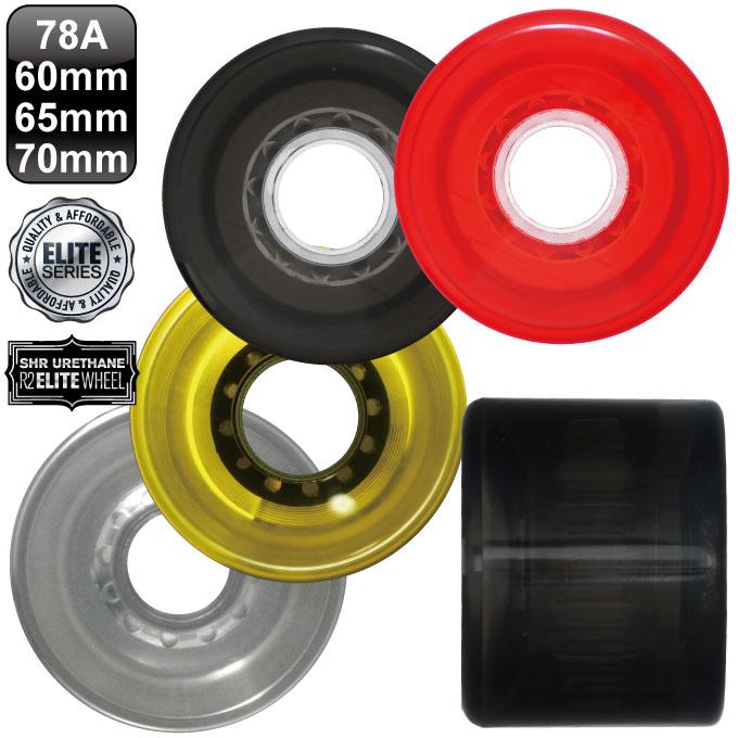 スケボー ソフトウィール エリートシリーズ 78A 60mm 65mm 70mm クルージング サーフスケート スラローム スケートボードレベルロイヤル REVEL ROYAL 1セット(4個入り)