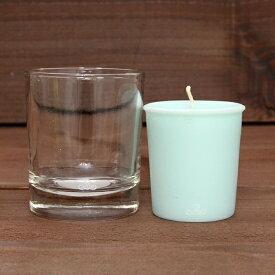 KUUMBA クンバ FRAGRANCE CANDLE グラス付きセット (SWEET RAIN)(キャンドル)