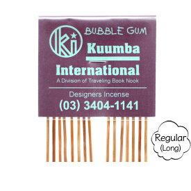 KUUMBA クンバ|INCENSE regular (BUBBLE GUM)(お香 レギュラーサイズ)