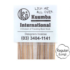 KUUMBA クンバ|INCENSE regular (LICK ME ALL OVER)(お香 レギュラーサイズ)