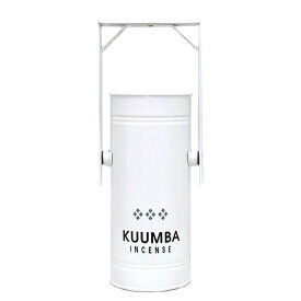 KUUMBA クンバ|METAL CAN BURNER REGULAR (WHITE)(お香立て)