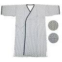 ガーゼ寝巻き 七分袖 七分丈 安心安全の日本製 パジャマ、入院、介護用としてお使い頂けます (2460 紳士用)