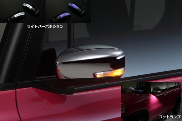 売りつくし価格!MH55SワゴンR/HA36Sアルト/MR31Sハスラー他ウインカーミラー用LEDウィンカーレンズキットウェルカムライト付き スズキ車汎用ドアミラー/サイドミラー/サイドマーカー/ターン/コーナー/フェンダー/SUZUKI