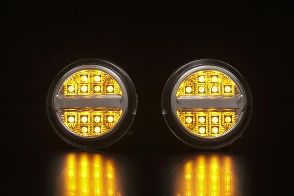 【Revier(レヴィーア)】「全2色」NHP10アクアG's / 30プリウス G'sLEDフロントウインカーライト/汎用/ランプ/ウィンカー/AQUA/PRIUS/ZVW/10系/30系/コーナー/ターン