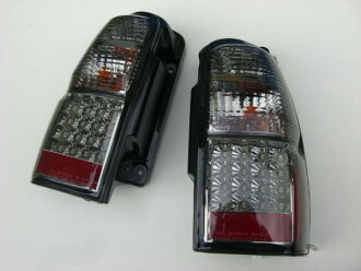 185 Hilux tail lights rear / light /TOYOTA / Toyota /Hilux/Surf / lenses / smoked / clear / Red LED