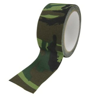 A 林地迷彩偽裝磁帶類型 [10 m] 用磁帶偽裝膠帶迷彩形式鴨磁帶保護包裝
