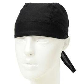 ROTHCO ヘッドラップ フリーサイズ コットン [ ブラック ] ミリタリーバンダナ バンダナキャップ 布キャップ 布帽子 バンダナ帽子