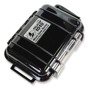 PELICAN マイクロケース 1010 [ ソリッドブラック ] CBK   透明 携帯電話 デジカメケース 保護ケース ダイビング プラスチックボックス