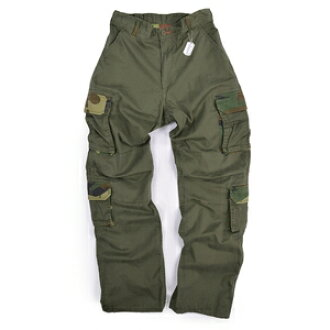97024c12a5 Rothko cargo pants vintage paratrooper 2146 olive drab (some Woodland Camo)  / S size