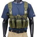 CONDOR チェストリグ MCR5 リーコン M4 ピストルマガジン6本 [ オリーブドラブ ] OUTDOOR コンドルアウトドア 弾薬帯 …