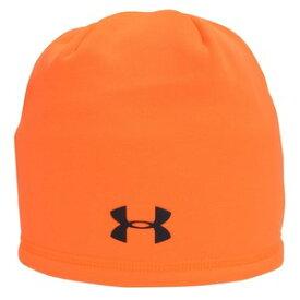 UNDER ARMOUR フリースキャップ UAストーム [ オレンジ ] アンダーアーマー ビーニーキャップ ウォッチキャップ スキー帽 ニット帽 防水 ワッチキャップ ニットキャップ メンズ