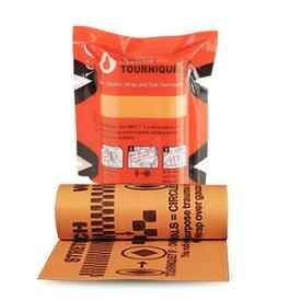 SWAT-T 軽量ターニケット 止血帯 ストレッチ素材 [ セーフティーオレンジ ] 応急処置 応急手当 手当て 救急用品 救護用品 CAT 救命止血帯