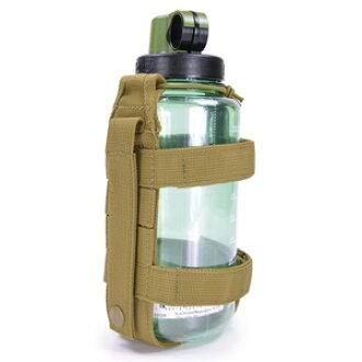 把支持ROTHCO瓶履歷MOLLE的2110[koyoteburaun]NALGENE kyantinnarugempochibotorukesu水壺放進去narugembotorupochi