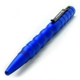 S&W タクティカルペン M&P2 ねじ込み式 [ ブルー ] | スミス&ウェッソン スミス&ウエッソン ディフェンスペン 高級ボールペン ギフト お祝い プレゼント クボタン 筆記具 護身用ボールペン アルミペン アルミボールペン 金属製ボールペン 金属ペン 高級ペン