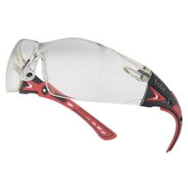 Bolle セーフティグラス RUSH PLUS コントラストレンズ ブラック&レッド メンズ アイウェア 紫外線カット UVカット サングラス 保護眼鏡 保護メガネ 曇り止め