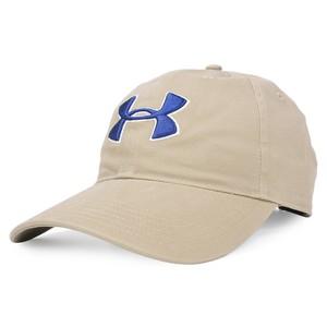 アンダーアーマー キャップ チノ UAロゴ [ タン ] ベースボールキャップ 野球帽 メンズ ワークキャップ ハット ミリタリーキャップ