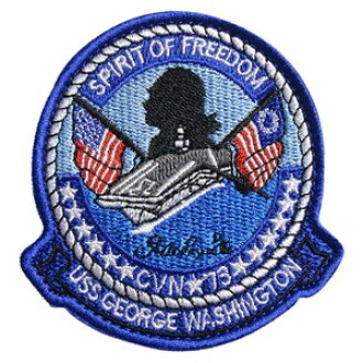 04486df9c7a Military emblem U.S. Navy George Washington CVN-73 Velcro military patch US  Navy carrier GEORGE WASHINGTON CVN73 national flag applique badge  embroidery in ...
