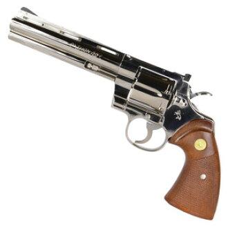 Tanaka ignition-type model gun Colt python R model 357 magnum 6 inches  nickel finish TANAKA COLT Python handgun handgun pistol 6inch