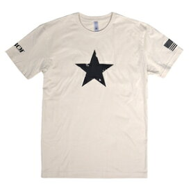 BCM Tシャツ 半袖 STAR 正規品 [ タン / Sサイズ ] Bravo Company Manufacturing ブラボー カンパニー マニュファクチュアリング ブラボーカンパニー 実物 ホワイトスター 米軍 ショートスリーブ