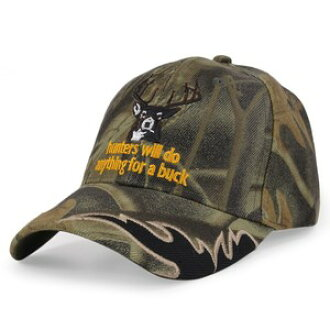 e298a571c6e Outdoor imported goods Repmart  Entering baseball cap embroidery hunters   real tree  hunter cap Hunters Will Do Anything For Buck baseball cap men  work cap ...