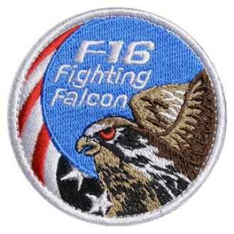 4116ba1dff0 Outdoor imported goods Repmart  Military emblem F16 fighting falcon  Star-Spangled Banner Velcro military patch Fighting Falcon fighter falcon  applique badge ...