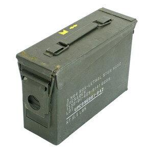 軍放出品 アモカン .30キャリバー 米軍 軍払下げ品 軍払い下げ品 鉄製弾薬ケース 軍放出品|弾薬箱 アンモカン AMMO CAN アンモボックス