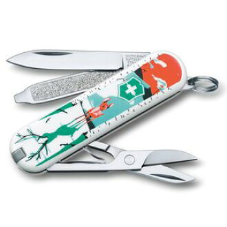 瑞士军刀瑞士军刀刀经典困倦,行走却成长鹿玉兰瑞士军刀 Blob 工具刀多功能工具 juttoku 刀瑞士军队刀实用刀