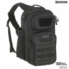 マックスペディション GRIDFLUX エルゴノミック スリングバッグ GRF [ ブラック ] ショルダーバック メッセンジャーバッグ かばん カジュアルバッグ カバン 鞄 ミリタリー 帆布 斜めがけバッグ 肩掛けバッグ スリングパック バックパック MAXPEDITION