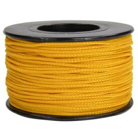 ATWOOD ROPE マイクロコード 1.18mm エアフォースゴールド アトウッドロープ 125フィート MICRO 紐 災害 緊急 アウトドア 黄金色 黄色