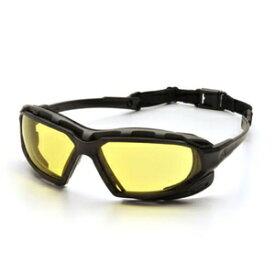PYRAMEX ゴーグル ハイランダーXP イエロー ピラメックス メンズ アイウェア 紫外線カット UVカット サングラス 保護眼鏡 保護メガネ 曇り止め 保護ゴーグル 安全ゴーグル セーフティーゴーグル 医療用ゴーグル