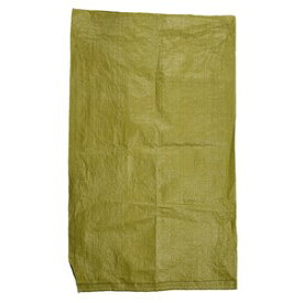 土のう袋 ミリタリーカラー PP製 口紐なし 土嚢 [ オリーブドラブ / 小 ] ガラ袋 がら袋 どのう サンドバック 土嚢袋 どのう袋 ドンゴロス 南京袋 土塁
