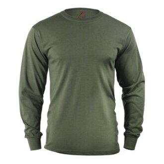 fffb0b95b2279 60118 [large size] rothco long sleeves T-shirt olive-drab military shirt