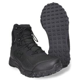 アンダーアーマー Valsetz RTS 1.5 タクティカルブーツ 4E 幅広 ブラック [ 9W(27cm) ] UNDER ARMOUR ヴァルセズ 軽量 耐水 通気性 ミリタリー サバゲー 装備品 コンバットブーツ 軍靴 半長靴 戦闘靴 ミリタリーブーツ サバゲーブーツ