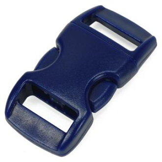Side-release buckle replacement for 30 × 15 mm blue [Navy]