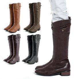 【送料無料】 ジョッキーブーツ ロングブーツ レディースブーツ リワード 大きいサイズ 履き口ゆったり 大きい筒周り as-666 キャメル グレー 黒 ロング ローヒール 歩きやすい フラットシューズ ぺたんこ 痛くない リワード 靴 レディース コスプレ 靴