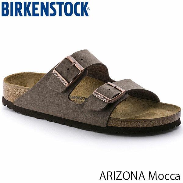 ビルケンシュトック メンズ サンダル アリゾナ ARIZONA ビルコフローヌバック モカ 幅広 BIRKENSTOCK GC151181 国内正規品