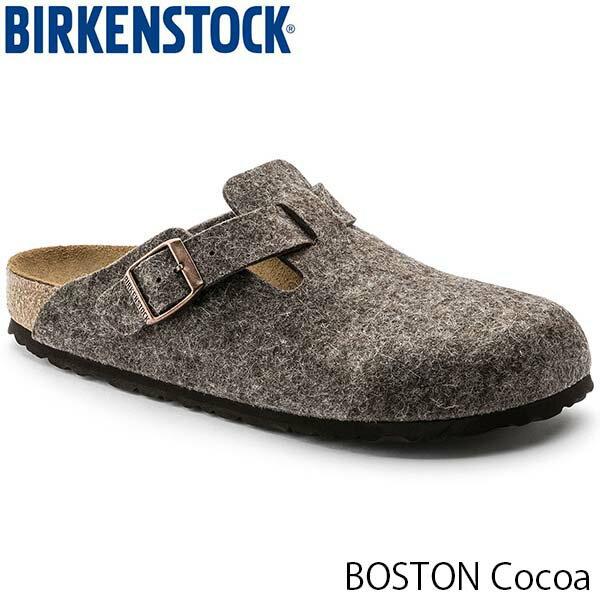 ビルケンシュトック メンズ サンダル ボストン BOSTON ウールフェルト ココア 幅広 BIRKENSTOCK GC160581 国内正規品