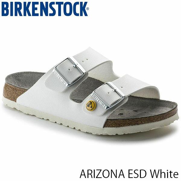 ビルケンシュトック メンズ サンダル アリゾナESD ARIZONA ESD ビルコフロー ホワイト 幅広 BIRKENSTOCK GP089410 国内正規品
